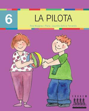 XINO-XANO LECTURA Nº 6 LLETRA PAL. LA PILOTA