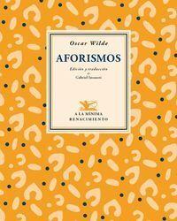 AFORISMOS - WILDE 2ªED