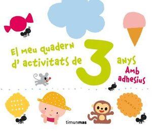 EL MEU QUADERN D'ACTIVITATS DE 3 ANYS