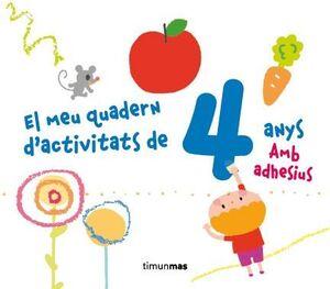 EL MEU QUADERN D'ACTIVITATS DE 4 ANYS