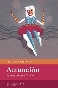 ACTUACION