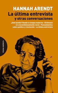 ULTIMA ENTREVISTA Y OTRAS CONVERSACIONES,LA 2ªED