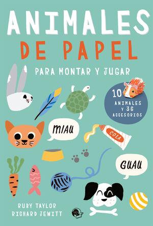 ANIMALES DE PAPEL PARA MONTAR Y JUGAR