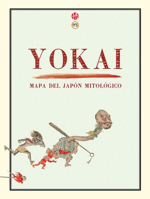 YOKAI MAPA DEL JAPON MITOLOGICO 2ªED