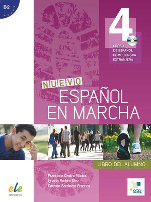 NUEVO ESPAÑOL EN MARCHA 4 ALUMNO + CD