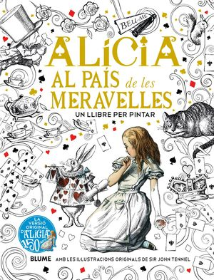 ALICIA AL PAÍS DE LES MERAVELLES (PINTAR)