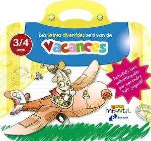 VACANCES LLETRES 3 ANYS