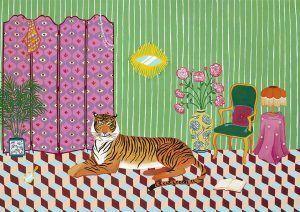 TAMARA LLOYD COX  A4 - EYES OF THE TIGER