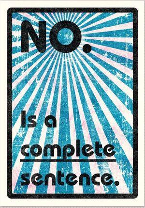 PRINT 'NO. IS A COMPLETE SENTENCE' MALAFOLLA