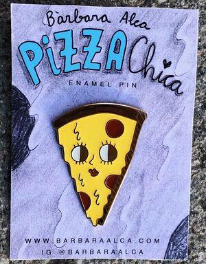 PIN PIZZA CHICA - BÀRBARA ALCA