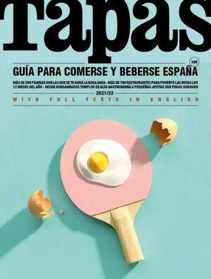 TAPAS - GUIA PARA COMERSE Y BEBERSE ESPAÑA 2021/22