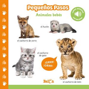 ANIMALES BEBÉS - LIBROS SONOROS