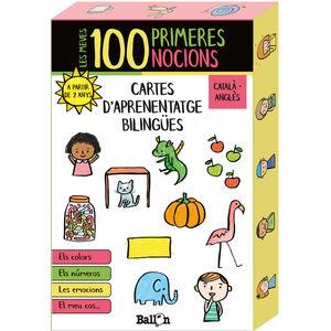 LES MEVES 100 PRIMERES NOCIONS - CARTES D'APRENENTATGE BILINGÜES