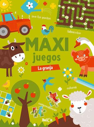 MAXI JUEGOS - LA GRANJA