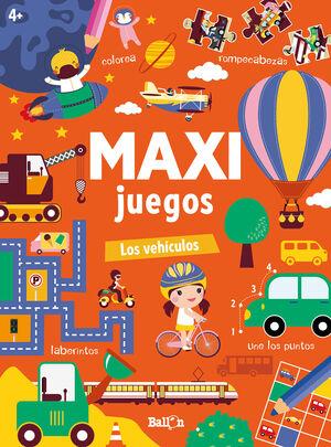 MAXI JUEGOS - LOS VEHÍCULOS