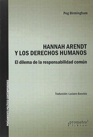 HANNAH ARENDT Y LOS DERECHOS HUMANOS